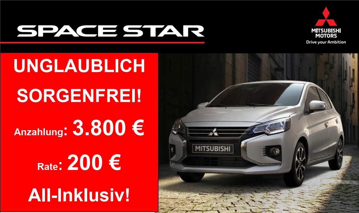 Mitsubishi Space Star Aktion